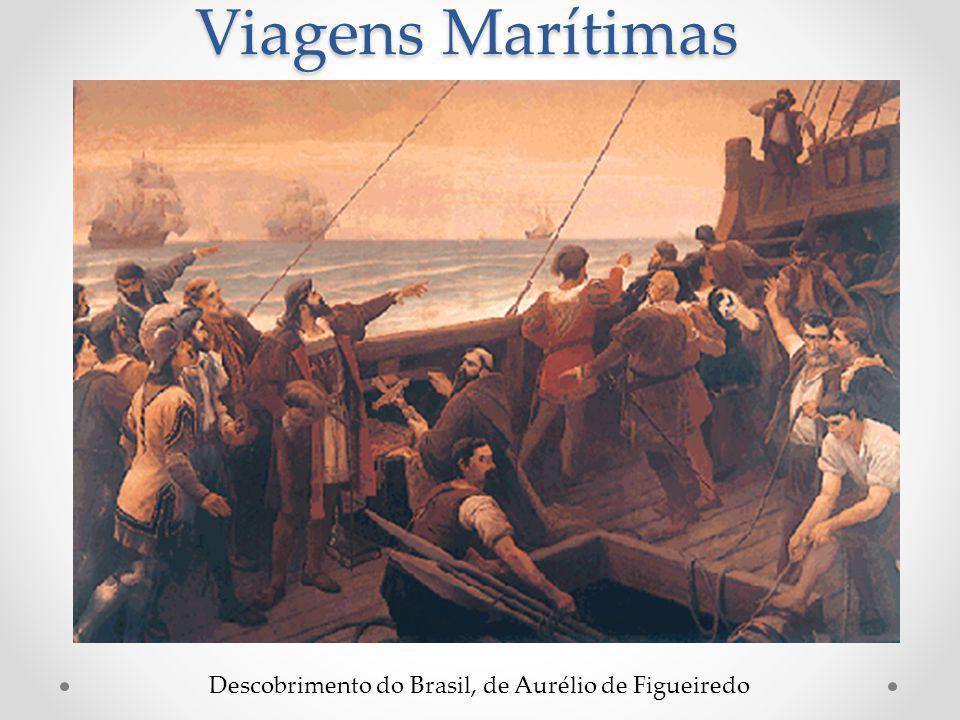 Viagens Marítimas Descobrimento do Brasil, de Aurélio de Figueiredo