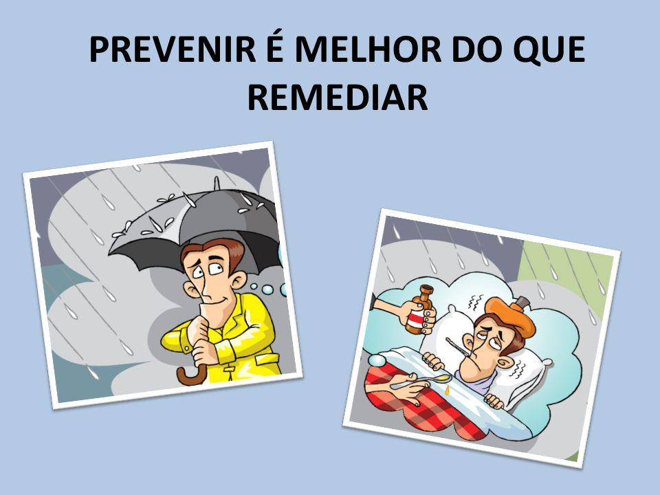 PREVENIR É MELHOR DO QUE REMEDIAR