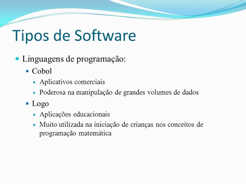 Tipos de Software Linguagens de programação: Cobol Logo