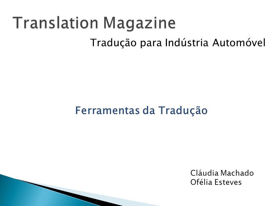 Translation Magazine Ferramentas da Tradução