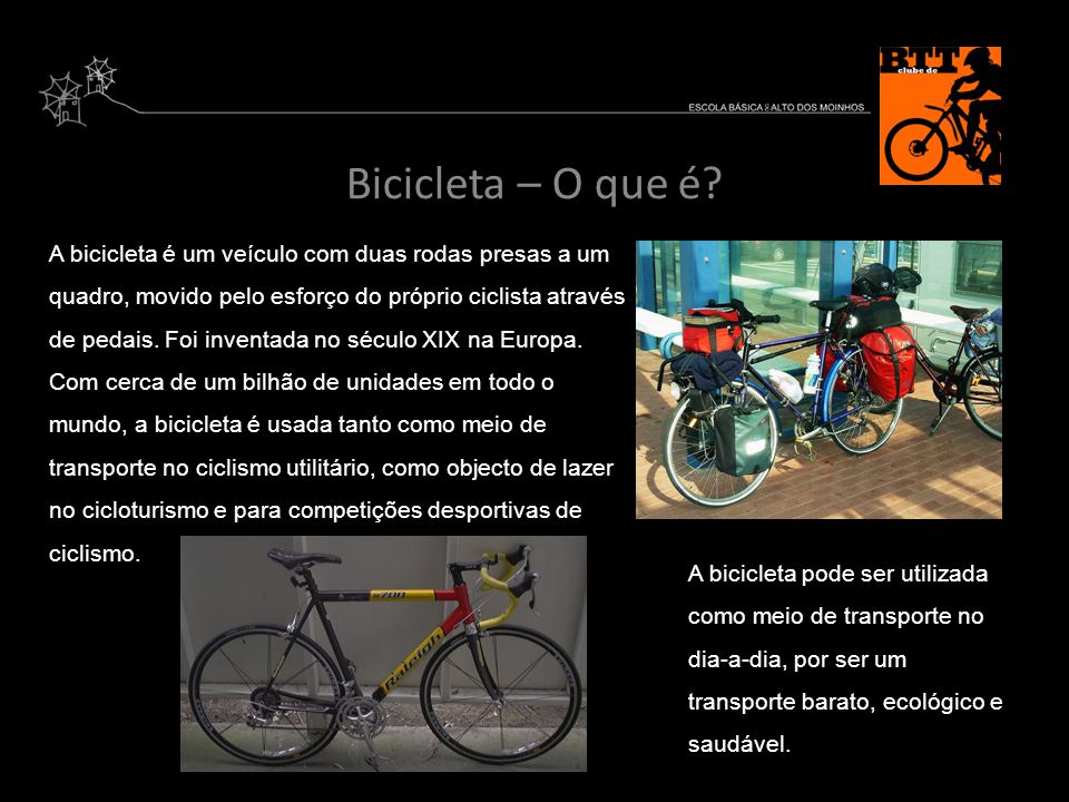 Bicicleta – O que é