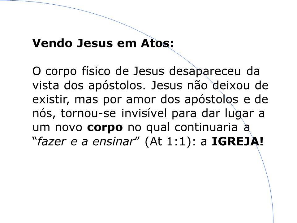 Vendo Jesus em Atos: