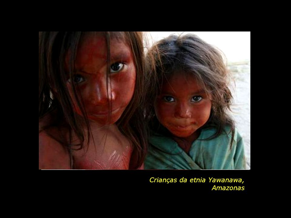 Crianças da etnia Yawanawa,