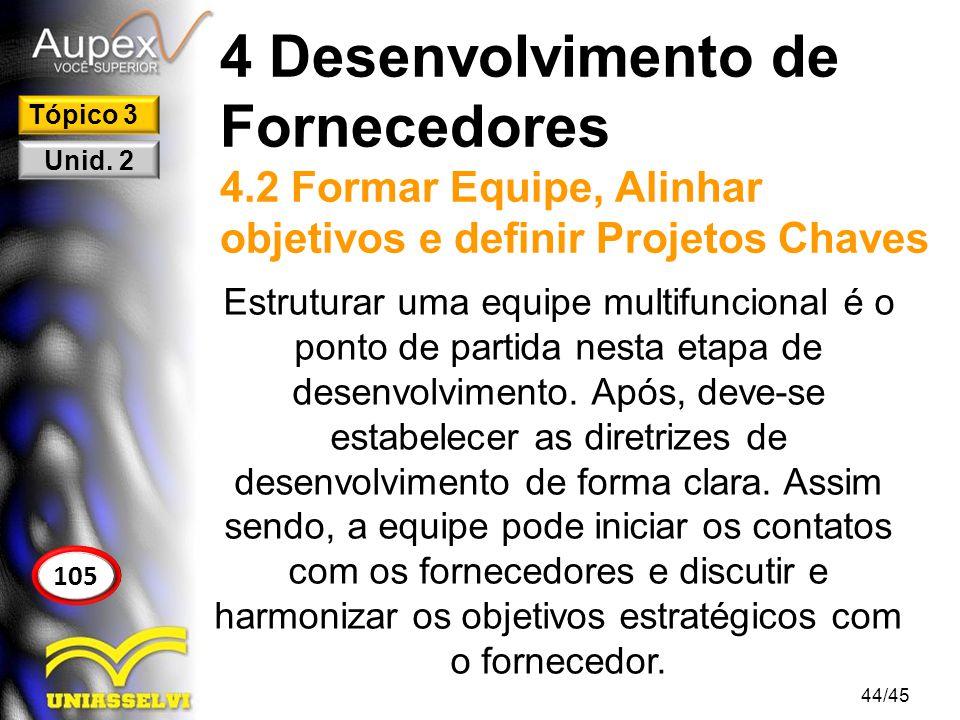 4 Desenvolvimento de Fornecedores 4