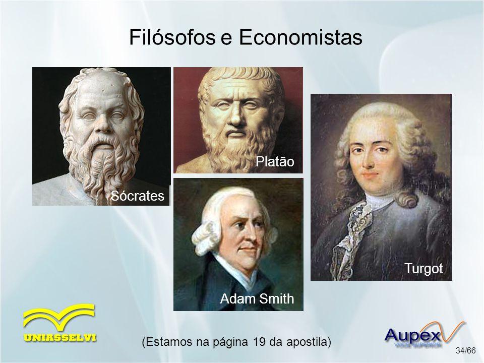 Filósofos e Economistas