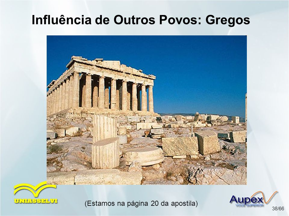 Influência de Outros Povos: Gregos