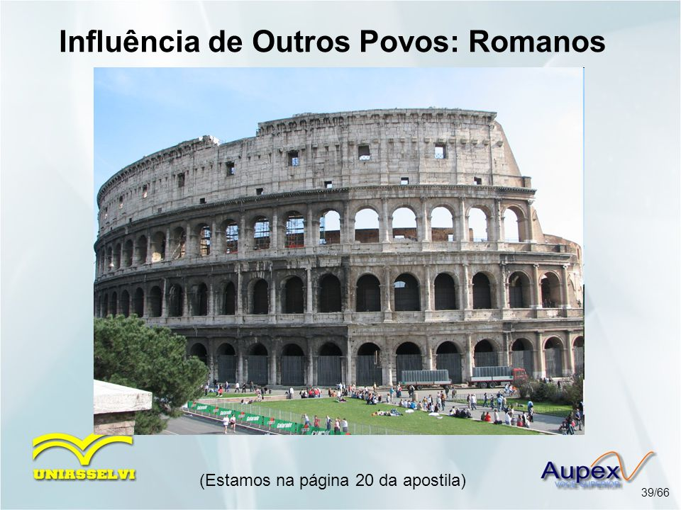 Influência de Outros Povos: Romanos