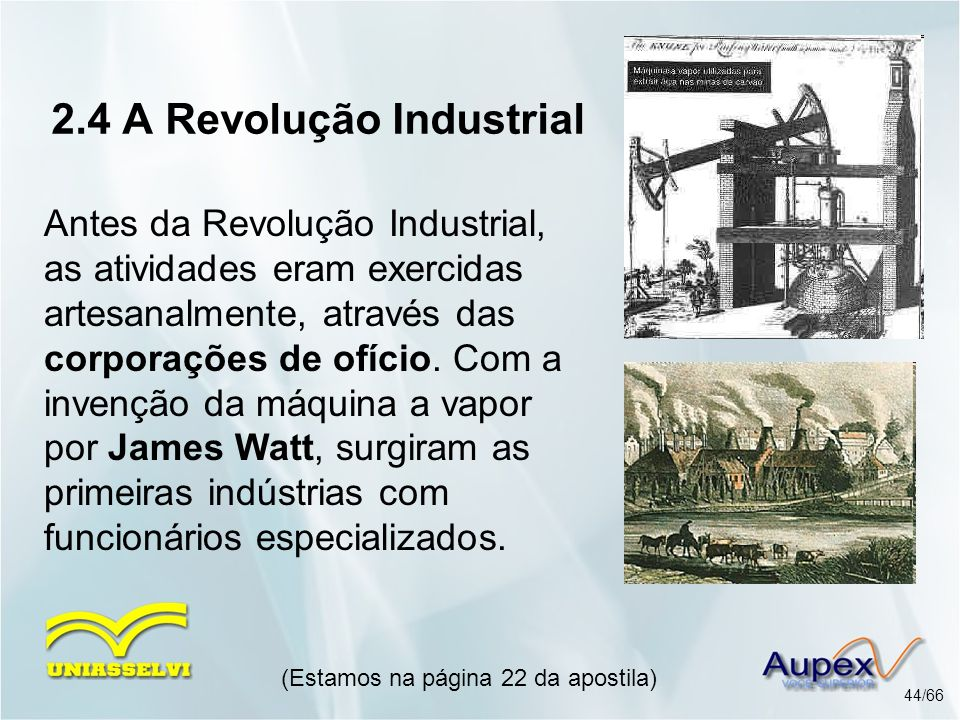 2.4 A Revolução Industrial