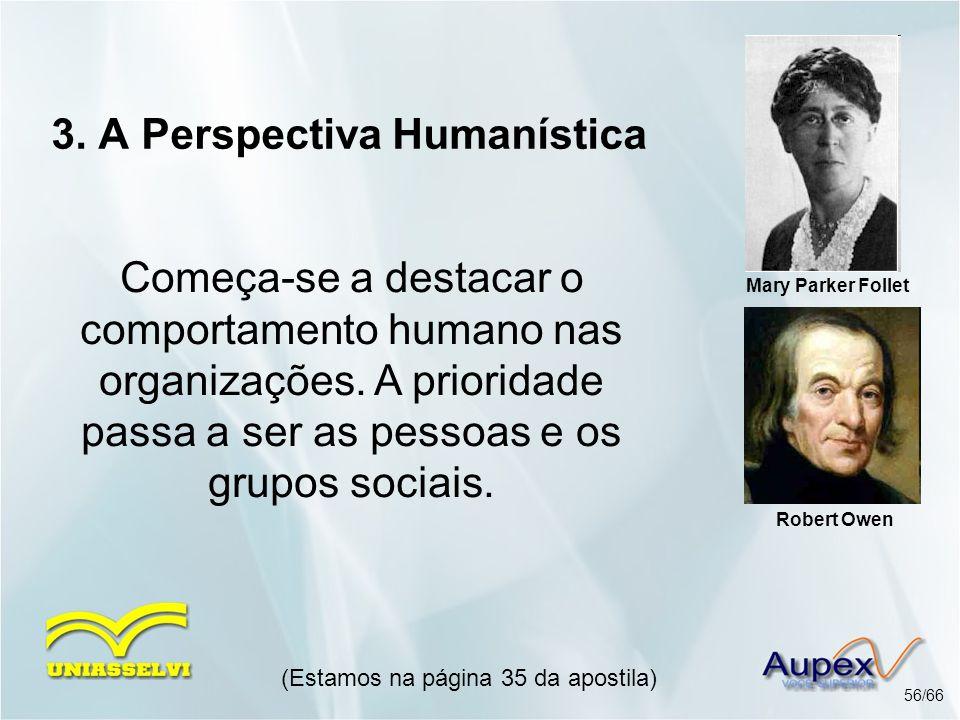 3. A Perspectiva Humanística