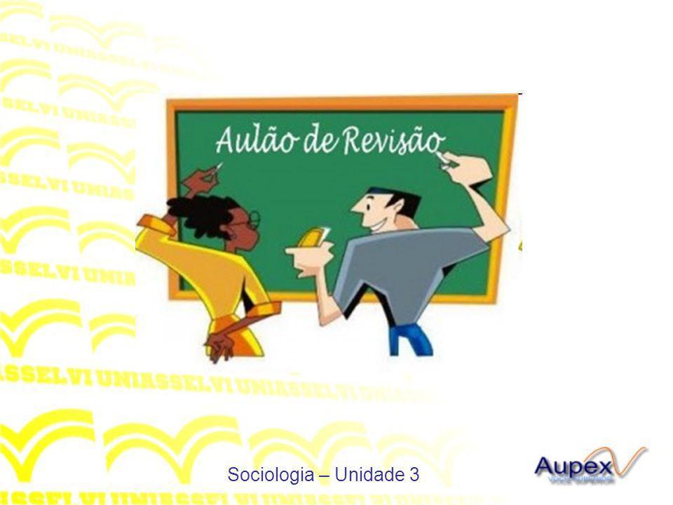 Sociologia – Unidade 3