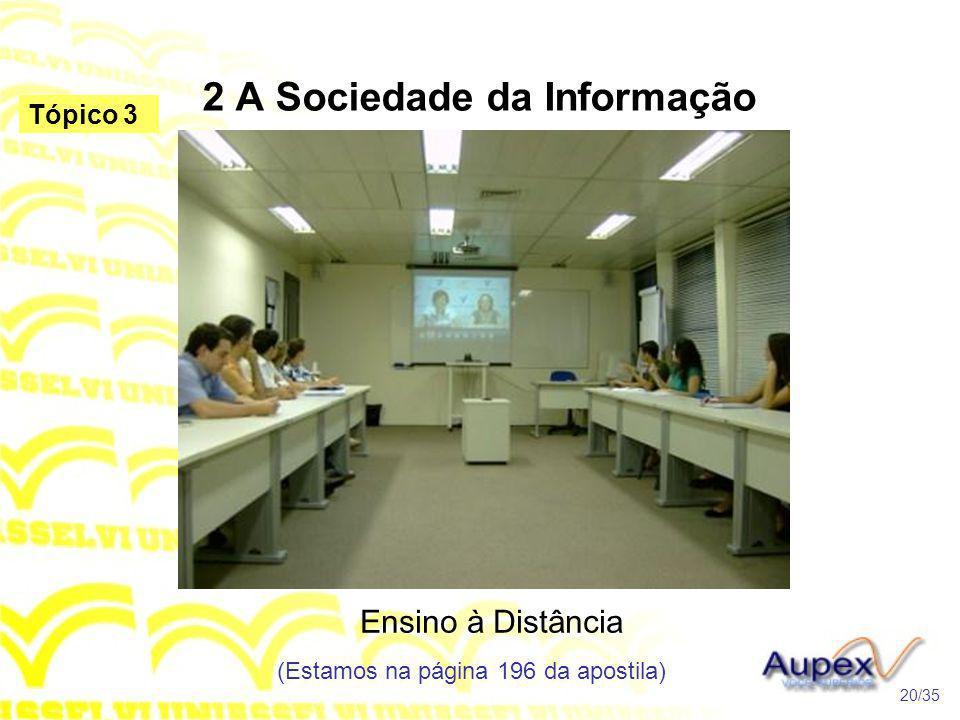 2 A Sociedade da Informação