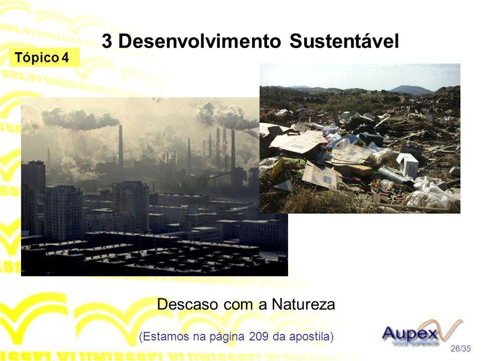 3 Desenvolvimento Sustentável