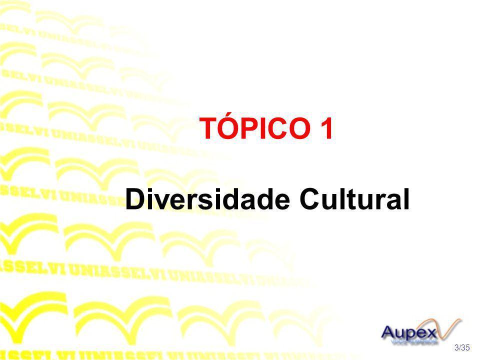 TÓPICO 1 Diversidade Cultural
