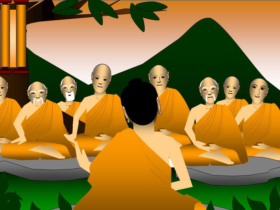 Entre os discípulos do Buda, havia dez discípulos que se destacaram pela capacidade, e que se dedicaram a propagação dos ensinos do seu mestre. Sakyamuni fez com que os Dez Grandes Discípulos desenvolvessem suas respectivas virtudes e qualidades, para formarem outros discípulos, Primeiramente, os ensinos foram pregados nas áreas de Rajagrha, Magadha e Índia Central. Mais tarde, estenderam-se pela região de Shravasti, em Kosala e na Índia Setentrional, onde um mosteiro foi doado por Sudatta, um rico e fervoroso discípulo, para uso nas estações chuvosas.