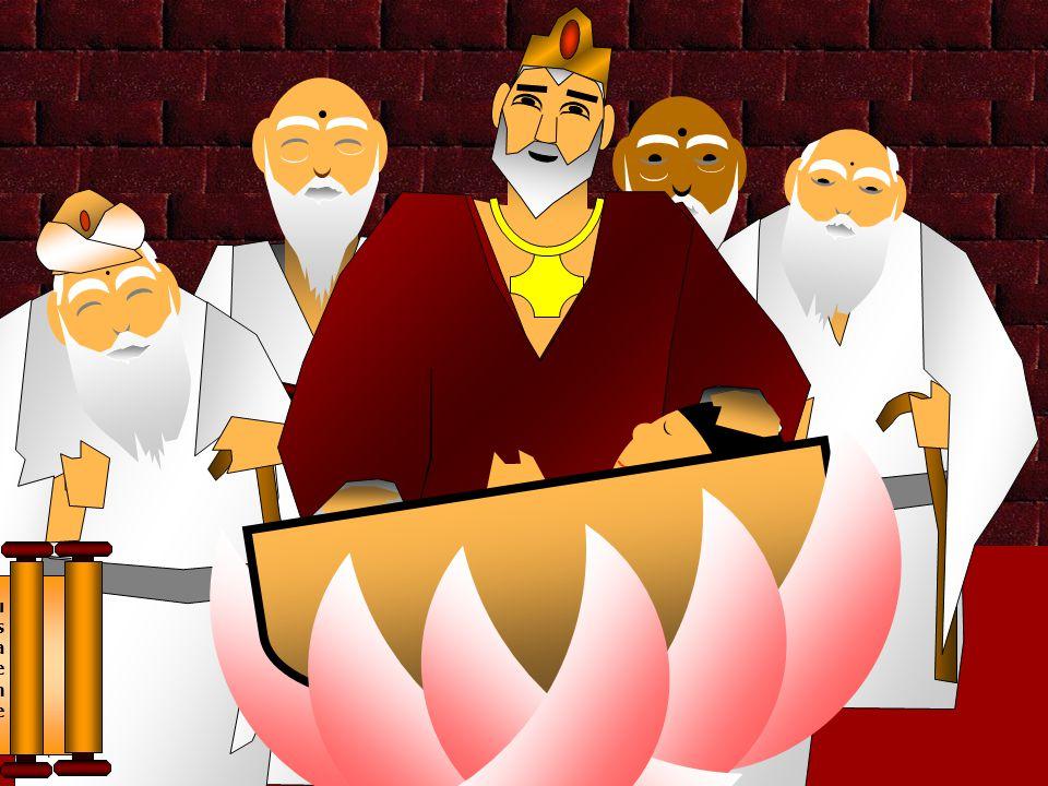O Príncipe recebeu o nome de Siddharta que significa desejo satisfeito .