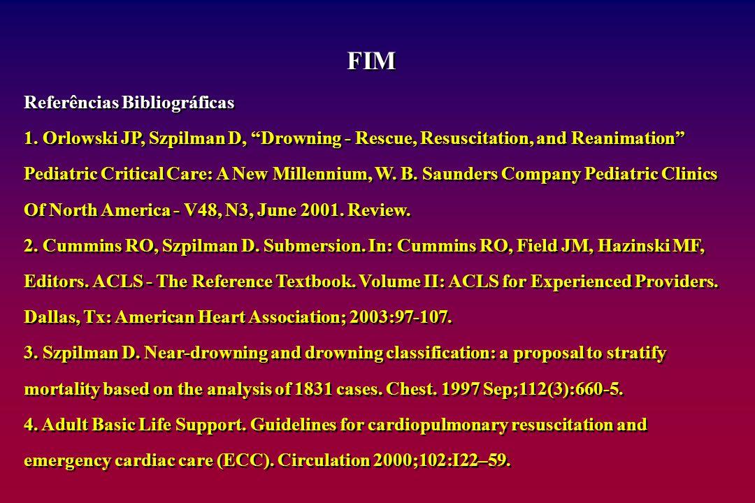 FIM Referências Bibliográficas