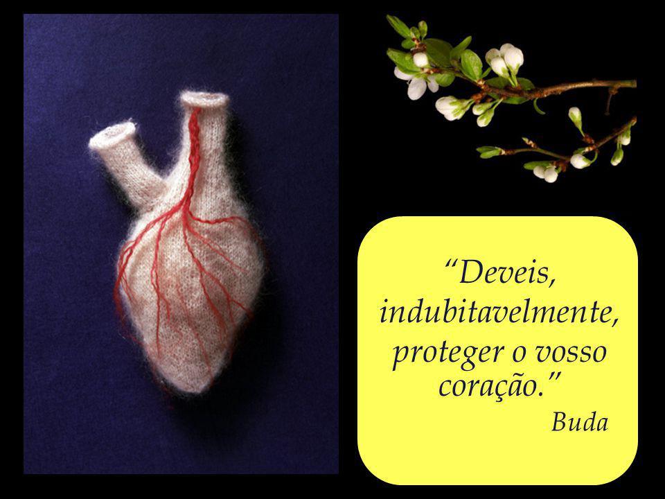 proteger o vosso coração.