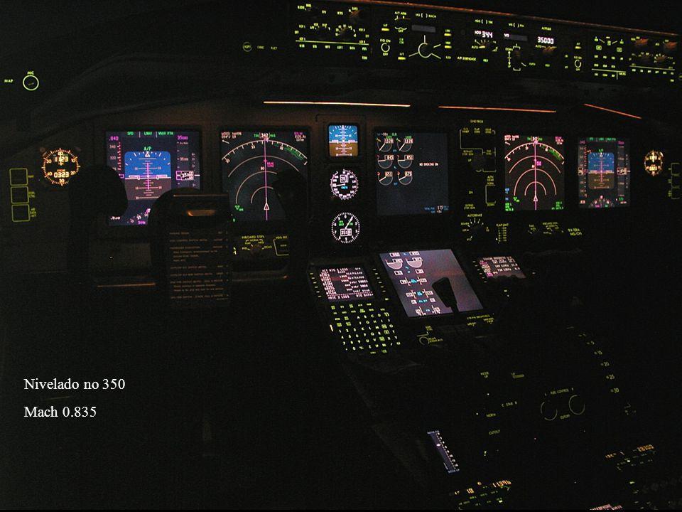Nivelado no 350 Mach 0.835