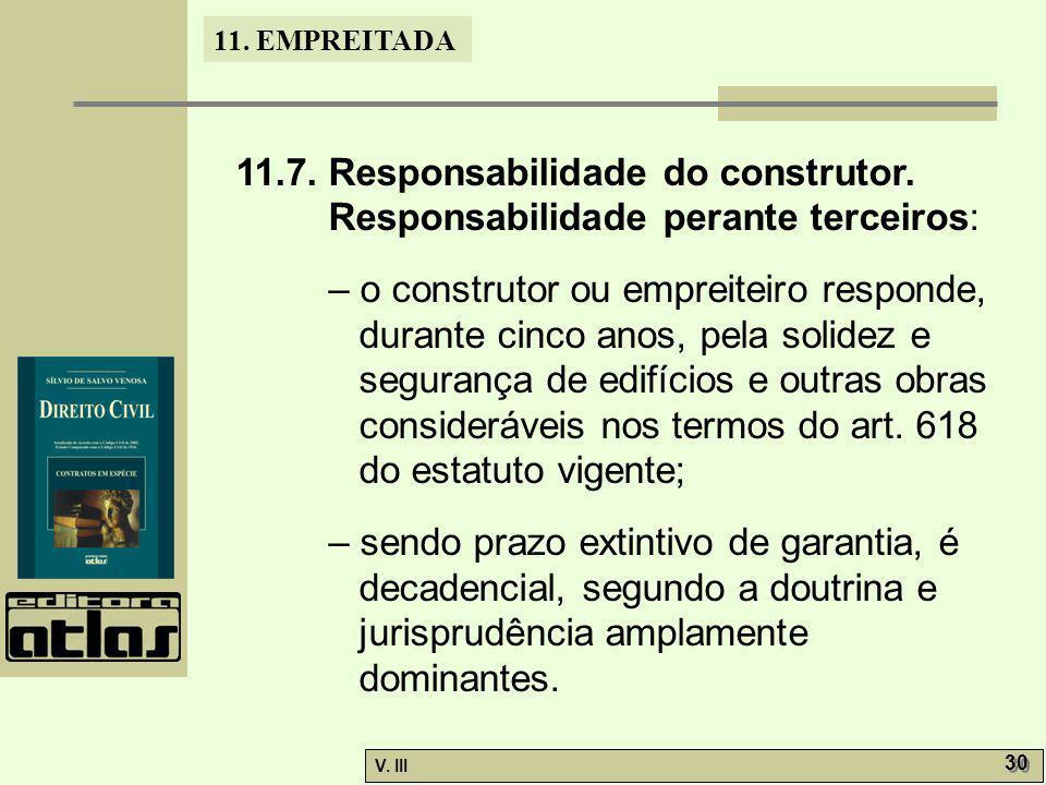 11. 7. Responsabilidade do construtor