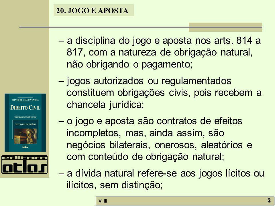 – a disciplina do jogo e aposta nos arts