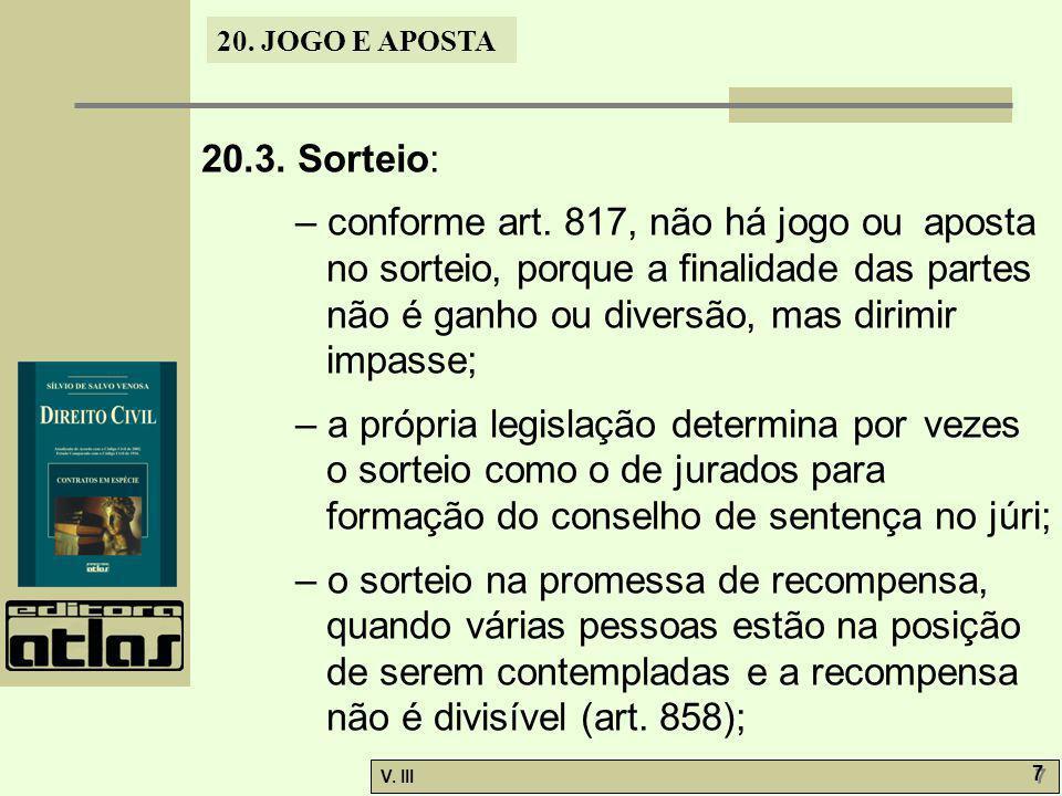 20.3. Sorteio: