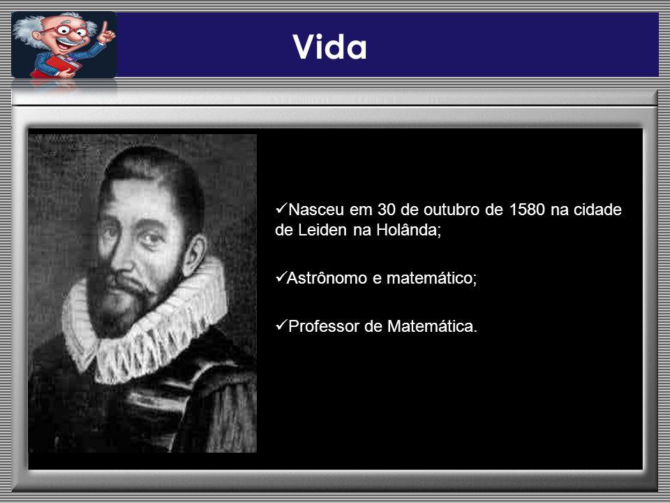 Vida Nasceu em 30 de outubro de 1580 na cidade de Leiden na Holânda;