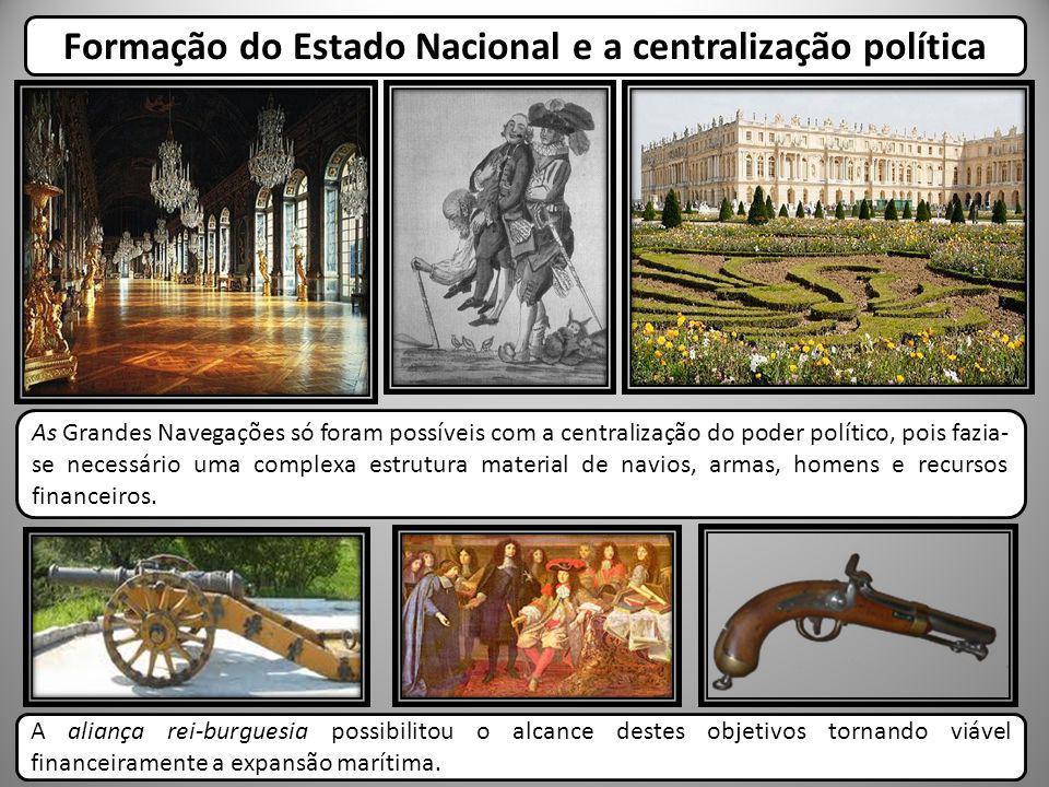 Formação do Estado Nacional e a centralização política