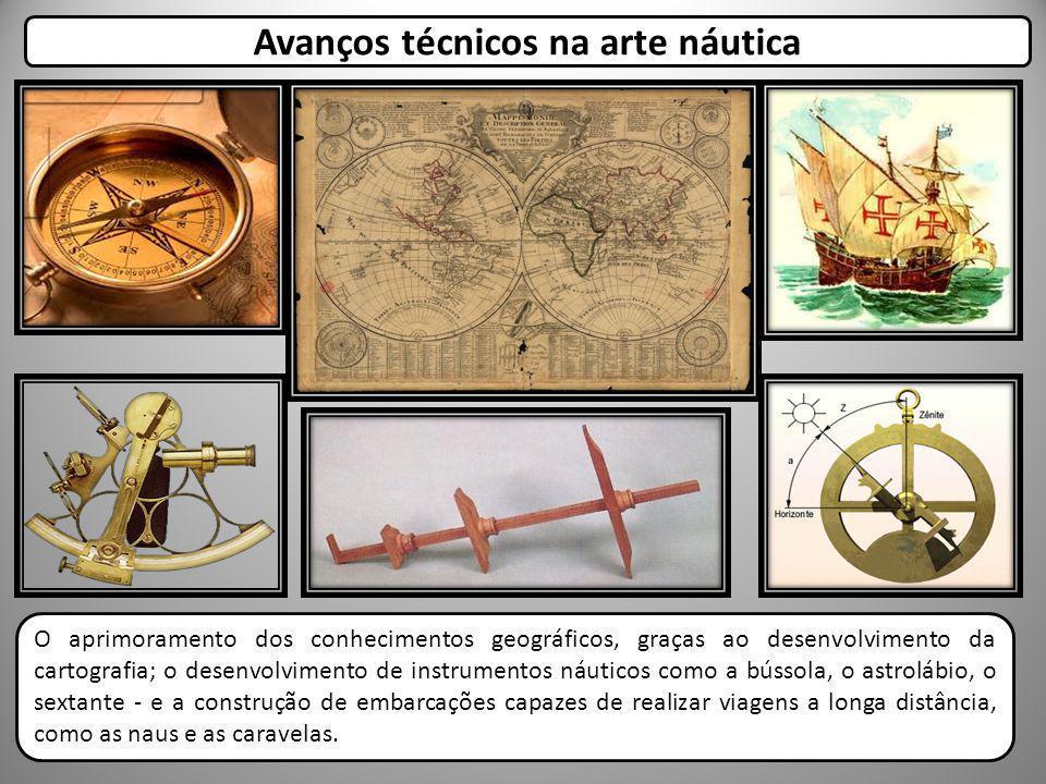 Avanços técnicos na arte náutica