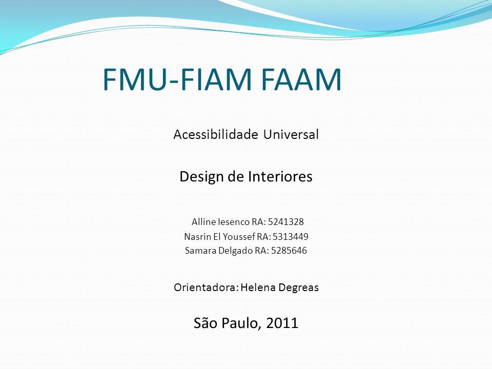 FMU-FIAM FAAM Design de Interiores Alline Iesenco RA: 5241328