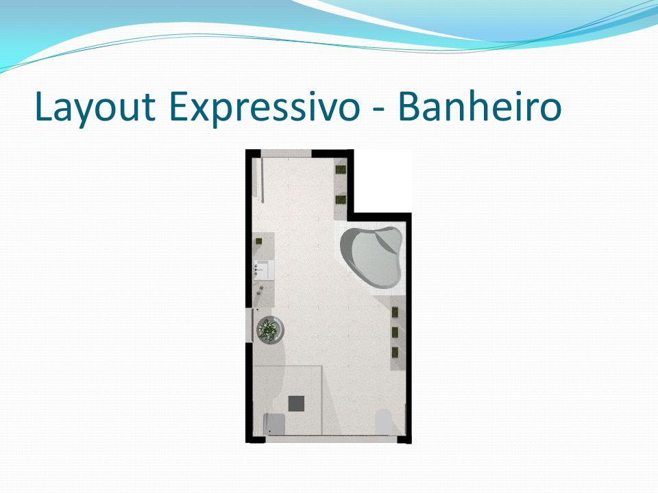 Layout Expressivo - Banheiro