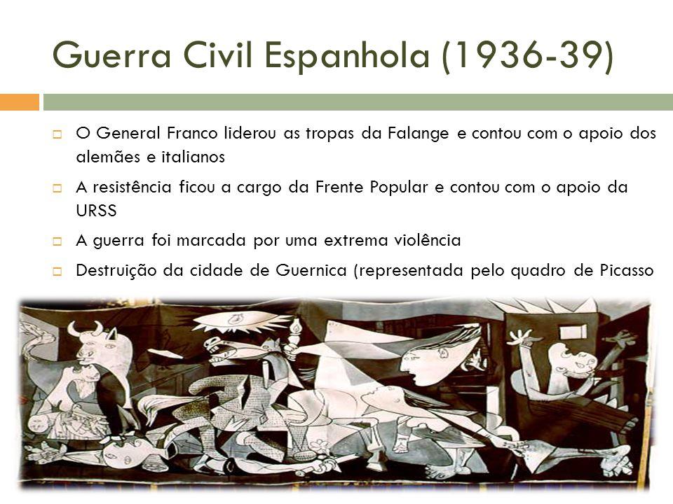 Guerra Civil Espanhola (1936-39)