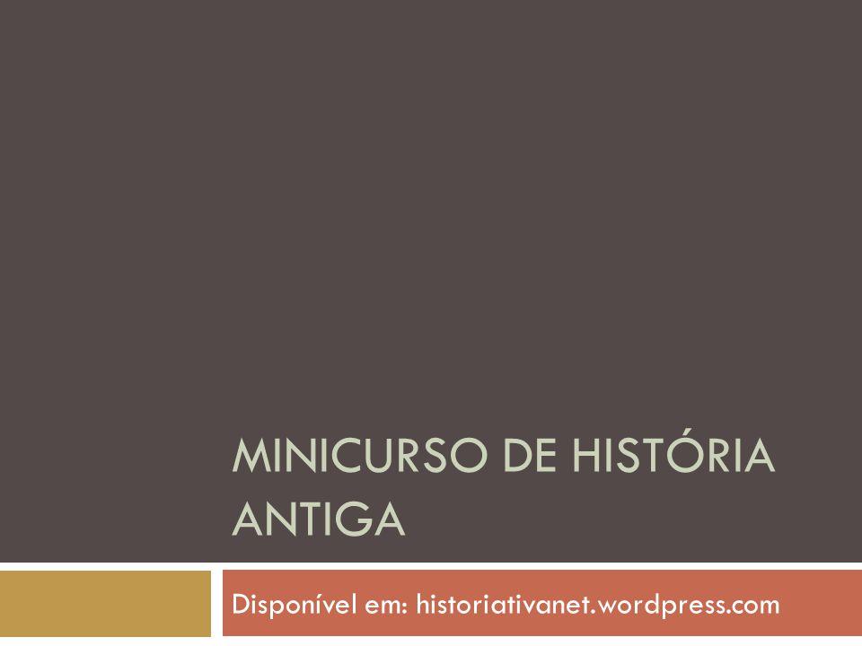 Minicurso de história antiga