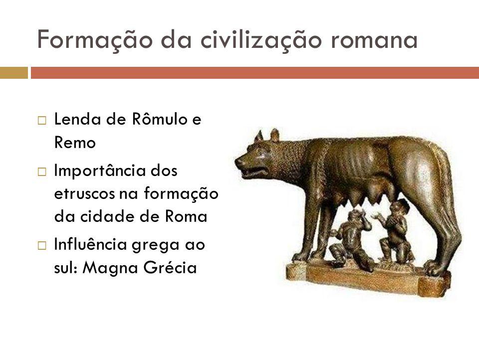 Formação da civilização romana