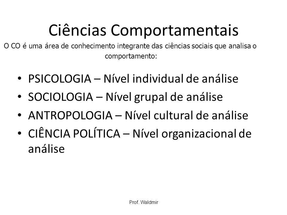 Ciências Comportamentais
