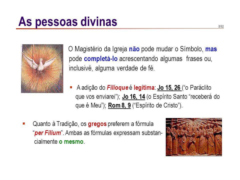 As pessoas divinas