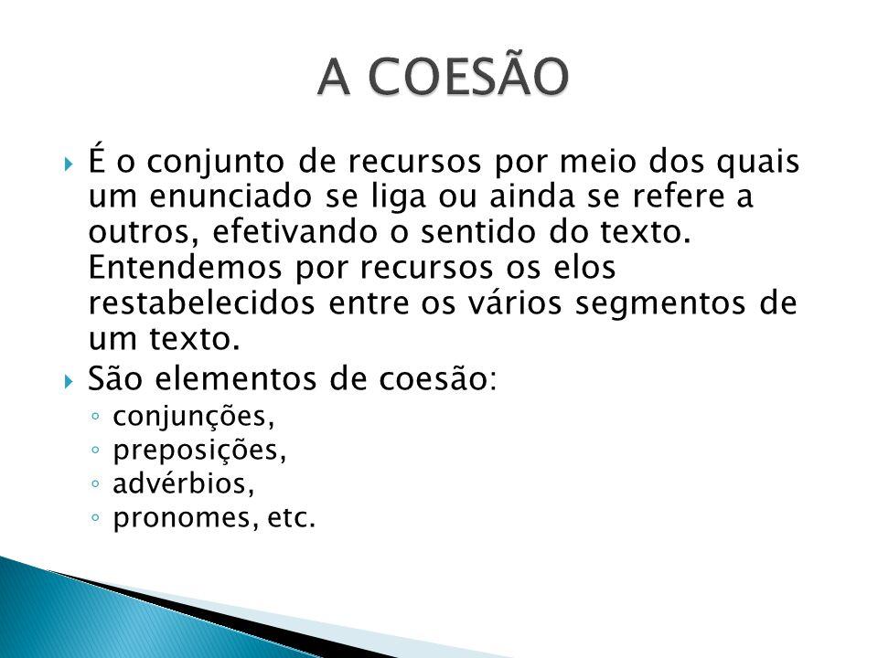 A COESÃO