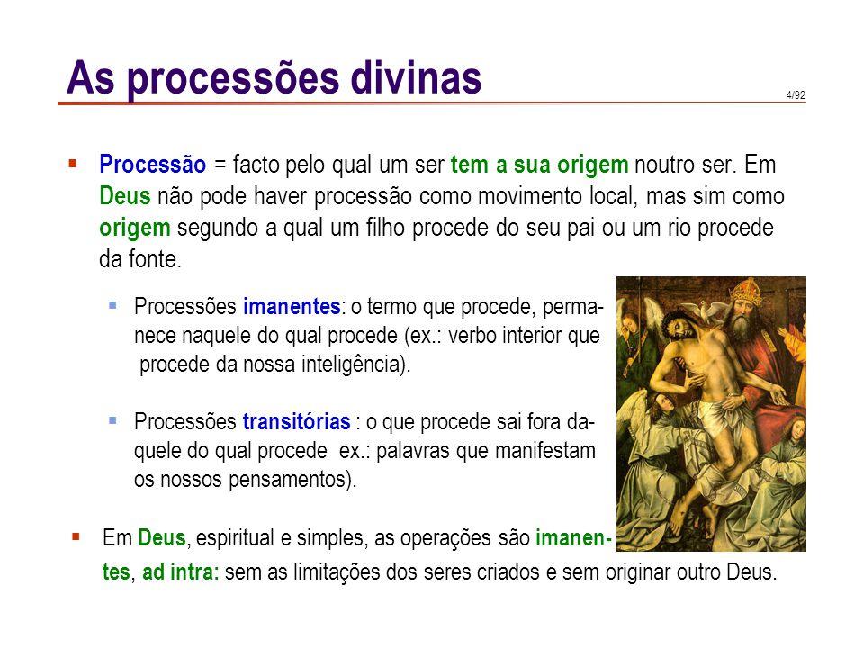 As processões divinas