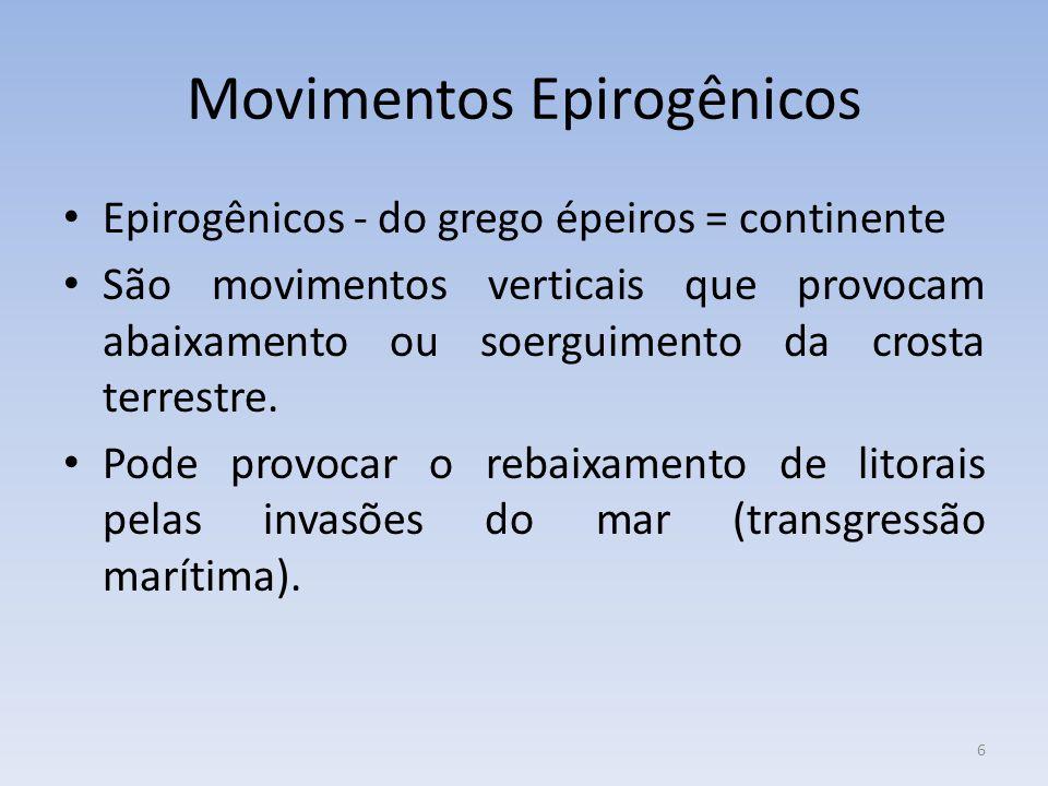 Movimentos Epirogênicos