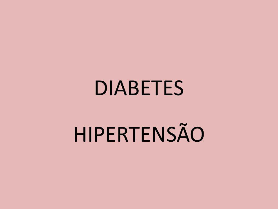 DIABETES HIPERTENSÃO