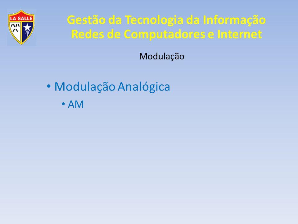 Modulação Analógica AM