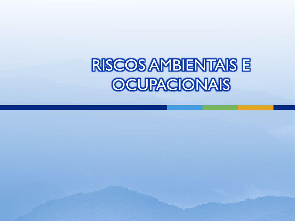 RISCOS AMBIENTAIS E OCUPACIONAIS
