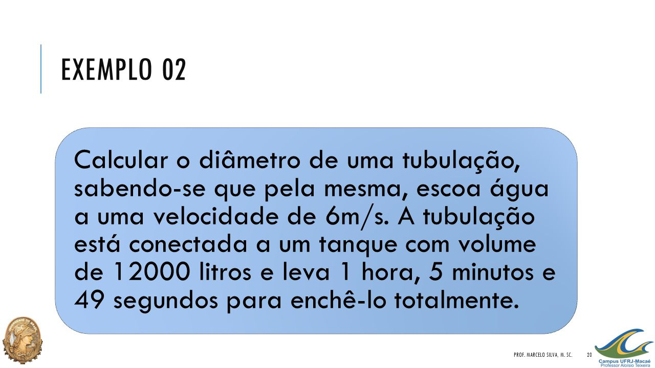 Exemplo 02 Prof. Marcelo Silva, M. Sc.