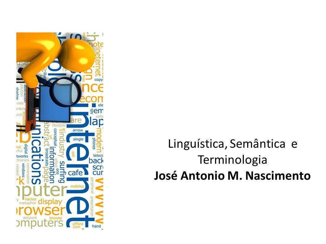 Linguística, Semântica e Terminologia