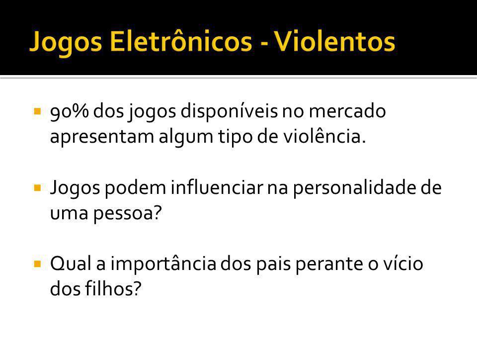 Jogos Eletrônicos - Violentos