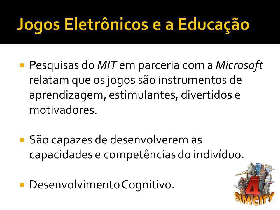 Jogos Eletrônicos e a Educação