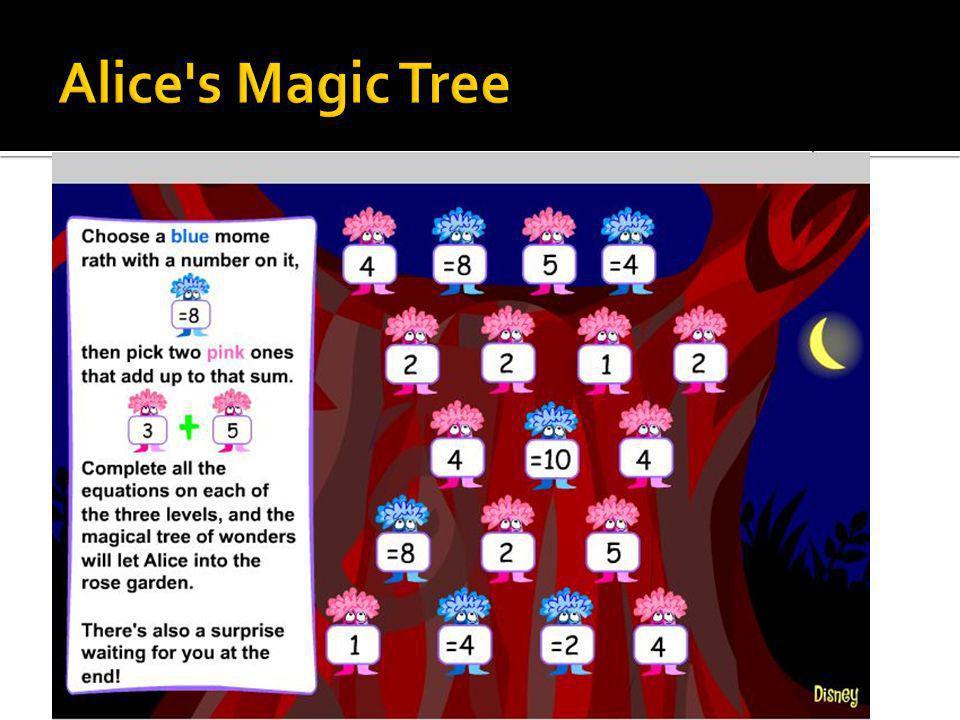 Alice s Magic Tree