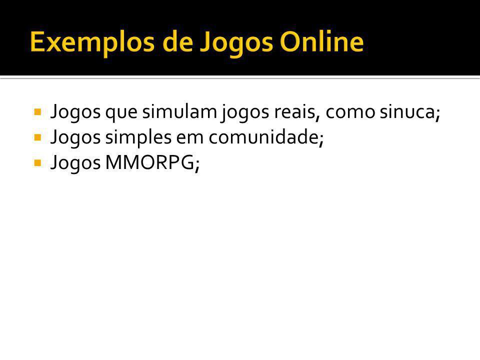 Exemplos de Jogos Online
