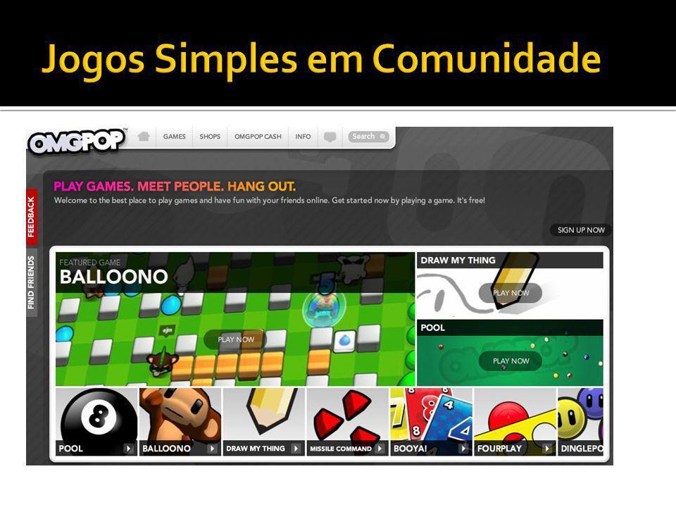 Jogos Simples em Comunidade