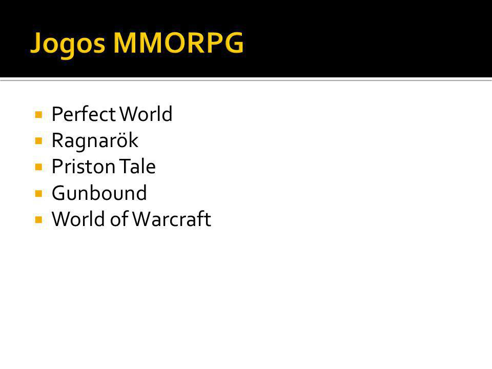 Jogos MMORPG Perfect World Ragnarök Priston Tale Gunbound