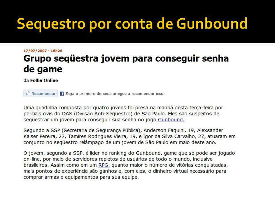 Sequestro por conta de Gunbound